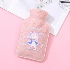 毛绒热水袋  500/箱 粉色 见详情