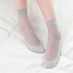 棉底丝袜   (10双/捆 10捆/包)双   1000/箱 灰色 均码
