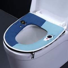 星球拼色马桶垫  200/箱 深蓝+浅蓝 见详情